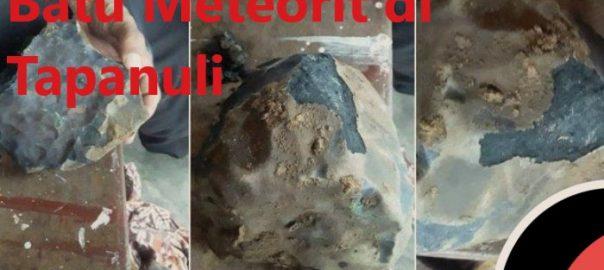 Batu Meteorit di Tapanuli