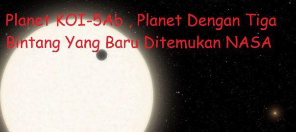 Planet KOI-5Ab