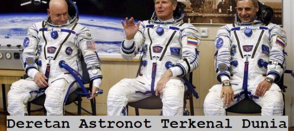 Deretan Astronot Terkenal Dunia